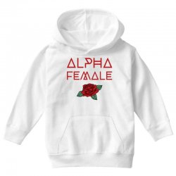 alpha female for dark Youth Hoodie | Artistshot