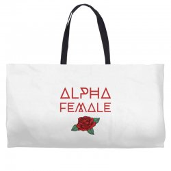 alpha female for dark Weekender Totes | Artistshot