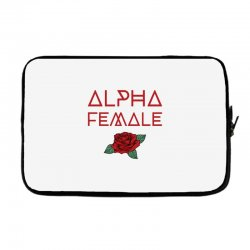 alpha female for dark Laptop sleeve | Artistshot
