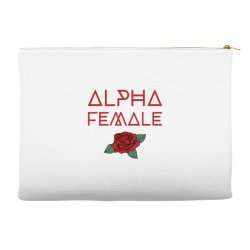 alpha female for dark Accessory Pouches | Artistshot