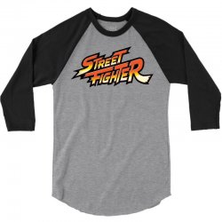 street fighter 3/4 Sleeve Shirt | Artistshot