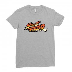 street fighter Ladies Fitted T-Shirt | Artistshot