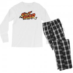 street fighter Men's Long Sleeve Pajama Set | Artistshot