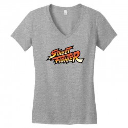street fighter Women's V-Neck T-Shirt | Artistshot