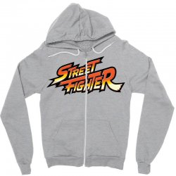 street fighter Zipper Hoodie | Artistshot