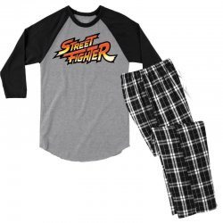 street fighter Men's 3/4 Sleeve Pajama Set | Artistshot