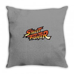 street fighter Throw Pillow | Artistshot
