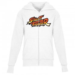 street fighter Youth Zipper Hoodie | Artistshot
