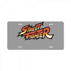 street fighter License Plate | Artistshot