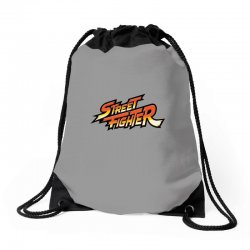street fighter Drawstring Bags | Artistshot