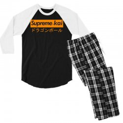 supreme kai dragonball Men's 3/4 Sleeve Pajama Set | Artistshot