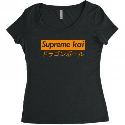 supreme kai dragonball Women's Triblend Scoop T-shirt | Artistshot