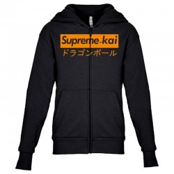 supreme kai dragonball Youth Zipper Hoodie | Artistshot