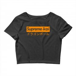supreme kai dragonball Crop Top | Artistshot