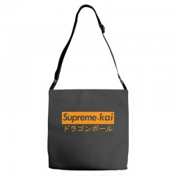 supreme kai dragonball Adjustable Strap Totes | Artistshot