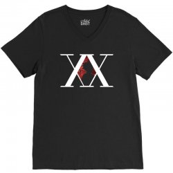 hunter x hunter for dark V-Neck Tee | Artistshot