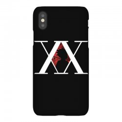 hunter x hunter for dark iPhoneX Case | Artistshot