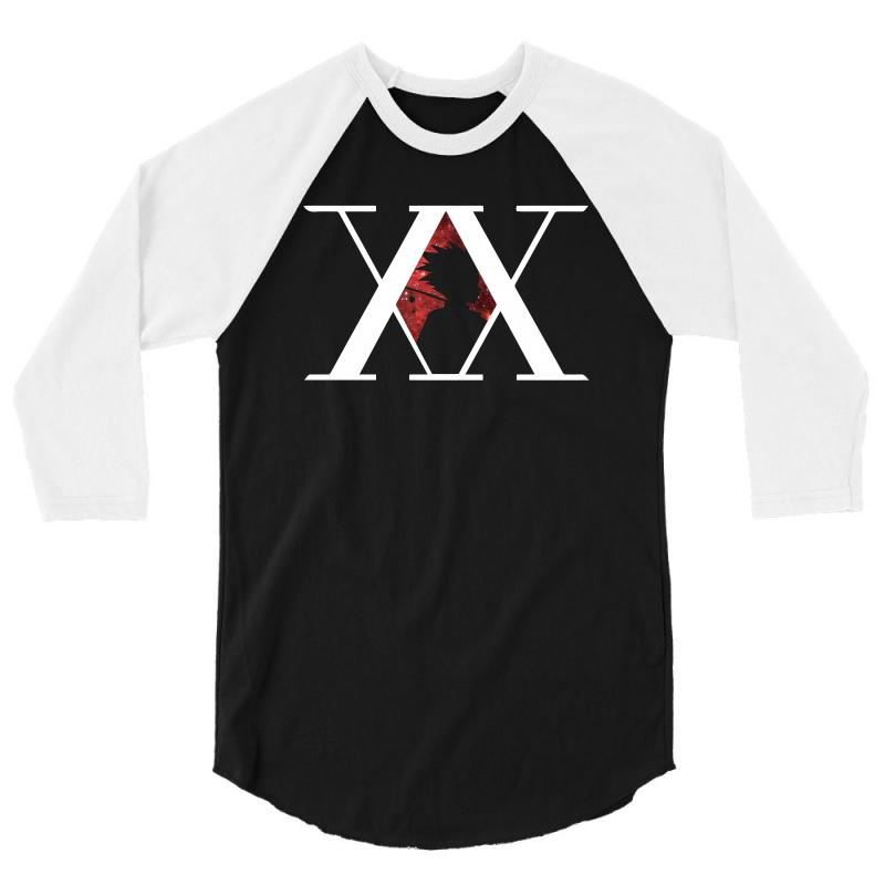 Hunter X Hunter For Dark 3/4 Sleeve Shirt | Artistshot