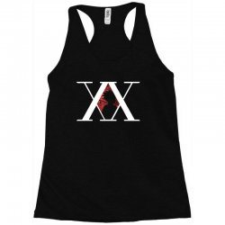 hunter x hunter for dark Racerback Tank | Artistshot
