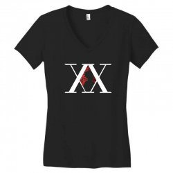hunter x hunter for dark Women's V-Neck T-Shirt | Artistshot