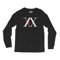 hunter x hunter for dark Long Sleeve Shirts | Artistshot