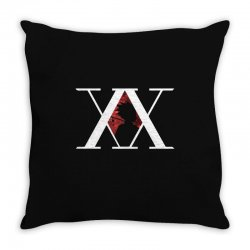 hunter x hunter for dark Throw Pillow | Artistshot
