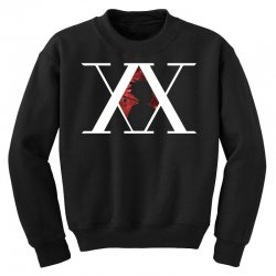 hunter x hunter for dark Youth Sweatshirt | Artistshot