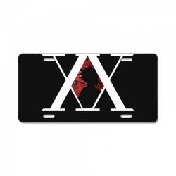 hunter x hunter for dark License Plate | Artistshot