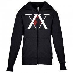 hunter x hunter for dark Youth Zipper Hoodie | Artistshot