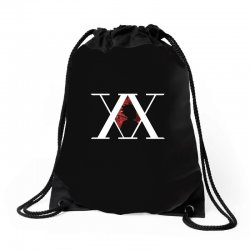 hunter x hunter for dark Drawstring Bags | Artistshot