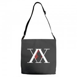 hunter x hunter for dark Adjustable Strap Totes | Artistshot