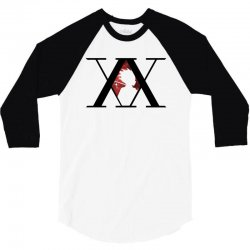 hunter x hunter for light 3/4 Sleeve Shirt | Artistshot