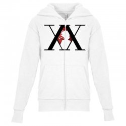 hunter x hunter for light Youth Zipper Hoodie | Artistshot