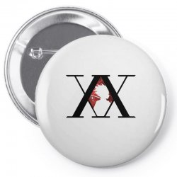 hunter x hunter for light Pin-back button | Artistshot