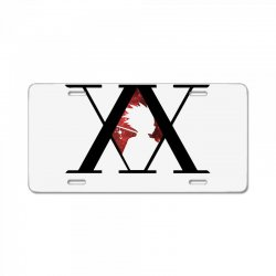 hunter x hunter for light License Plate | Artistshot