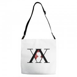 hunter x hunter for light Adjustable Strap Totes | Artistshot