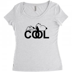 cool snoopy Women's Triblend Scoop T-shirt | Artistshot