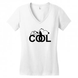 cool snoopy Women's V-Neck T-Shirt | Artistshot