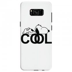 cool snoopy Samsung Galaxy S8 Case | Artistshot