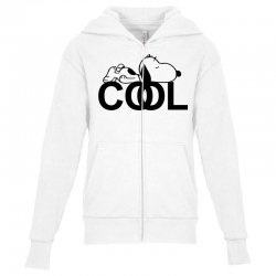 cool snoopy Youth Zipper Hoodie | Artistshot