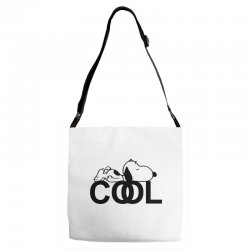 cool snoopy Adjustable Strap Totes | Artistshot