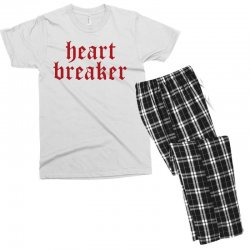 heartbreaker Men's T-shirt Pajama Set | Artistshot