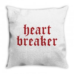 heartbreaker Throw Pillow | Artistshot