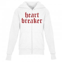 heartbreaker Youth Zipper Hoodie | Artistshot
