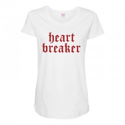 heartbreaker Maternity Scoop Neck T-shirt | Artistshot