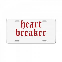 heartbreaker License Plate | Artistshot