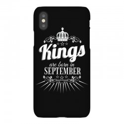 kings are born in september iPhoneX Case | Artistshot