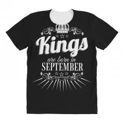kings are born in september All Over Women's T-shirt | Artistshot