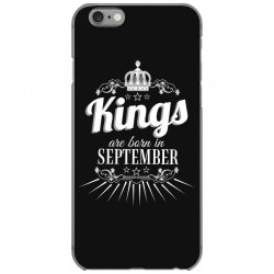kings are born in september iPhone 6/6s Case | Artistshot