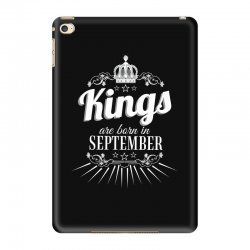 kings are born in september iPad Mini 4 Case | Artistshot